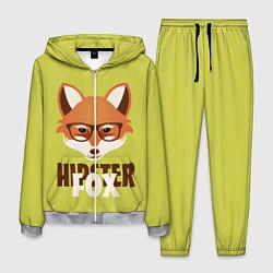 Костюм мужской Hipster Fox цвета 3D-меланж — фото 1