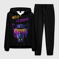 Костюм мужской Wild Clubber цвета 3D-черный — фото 1