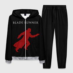 Костюм мужской Blade Runner цвета 3D-меланж — фото 1