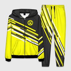 Костюм мужской Borussia FC: Sport Line 2018 цвета 3D-черный — фото 1