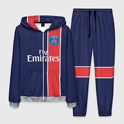 Костюм мужской FC PSG: Original цвета 3D-меланж — фото 1