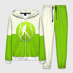 Костюм мужской Символ теннисиста цвета 3D-белый — фото 1