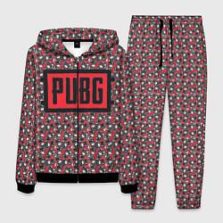 Костюм мужской PUBG: Red Pattern цвета 3D-черный — фото 1
