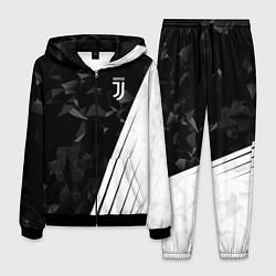 Костюм мужской FC Juventus: Abstract цвета 3D-черный — фото 1