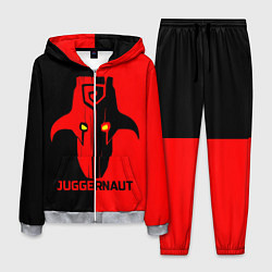 Костюм мужской Juggernaut Blood цвета 3D-меланж — фото 1