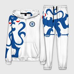 Костюм мужской FC Chelsea: White Lion цвета 3D-белый — фото 1