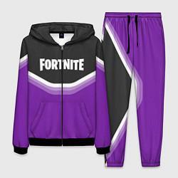 Костюм мужской Fortnite Violet цвета 3D-черный — фото 1