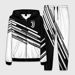 Костюм мужской FC Juventus: B&W Line цвета 3D-черный — фото 1