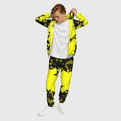 Костюм мужской FC Borussia Dortmund: Yellow Original цвета 3D-меланж — фото 2