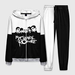 Костюм мужской My Chemical Romance B&W цвета 3D-меланж — фото 1