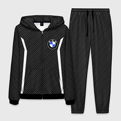 Костюм мужской BMW Motorsport Carbon цвета 3D-черный — фото 1
