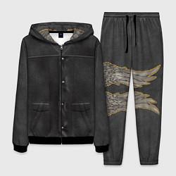 Костюм мужской Униформа Дэрила цвета 3D-черный — фото 1