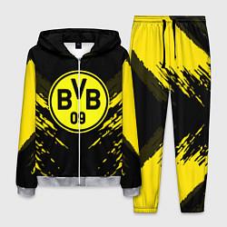 Костюм мужской Borussia FC: Sport Fashion цвета 3D-меланж — фото 1