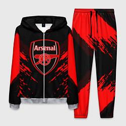 Костюм мужской Arsenal FC: Sport Fashion цвета 3D-меланж — фото 1