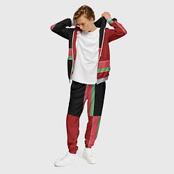 Костюм мужской Belarus Style цвета 3D-меланж — фото 2