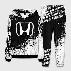 Костюм мужской Honda: Black Spray цвета 3D-черный — фото 1