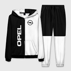 Костюм мужской Opel B&W цвета 3D-черный — фото 1