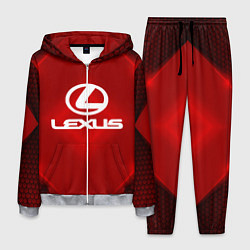 Костюм мужской Lexus: Red Light цвета 3D-меланж — фото 1
