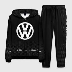 Костюм мужской Volkswagen: Black Abstract цвета 3D-черный — фото 1