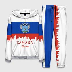 Костюм мужской Samara: Russia цвета 3D-меланж — фото 1