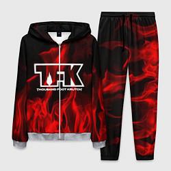 Костюм мужской Thousand Foot Krutch: Red Flame цвета 3D-меланж — фото 1