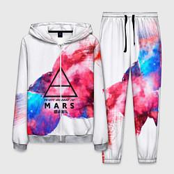 Костюм мужской 30 Seconds to Mars цвета 3D-меланж — фото 1