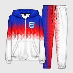 Костюм мужской Сборная Англии: Тренировочная ЧМ-2018 цвета 3D-белый — фото 1