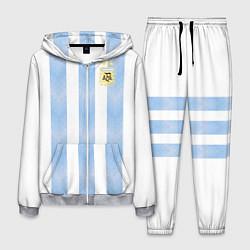 Костюм мужской Сборная Аргентины цвета 3D-меланж — фото 1