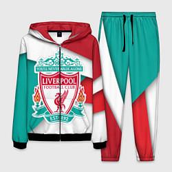 Костюм мужской FC Liverpool цвета 3D-черный — фото 1
