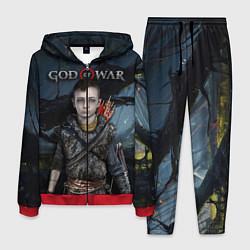 Костюм мужской God of War: Atreus цвета 3D-красный — фото 1