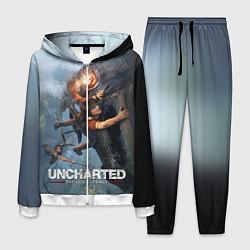 Костюм мужской Uncharted: The Lost Legacy цвета 3D-белый — фото 1