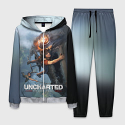 Костюм мужской Uncharted: The Lost Legacy цвета 3D-меланж — фото 1