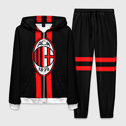 Костюм мужской AC Milan 1899 цвета 3D-белый — фото 1