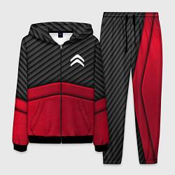 Костюм мужской Citroen: Red Carbon цвета 3D-черный — фото 1