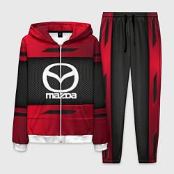 Костюм мужской Mazda Sport цвета 3D-белый — фото 1