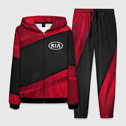 Костюм мужской Kia: Red Sport цвета 3D-черный — фото 1