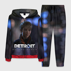 Костюм мужской Detroit: Kara цвета 3D-красный — фото 1