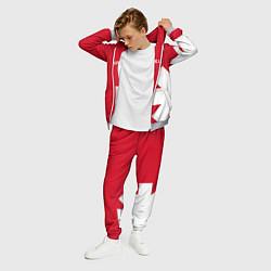 Костюм мужской RHCP: Red Style цвета 3D-меланж — фото 2