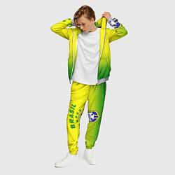 Костюм мужской CBF Brasil цвета 3D-меланж — фото 2