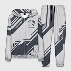 Костюм мужской Team Liquid: Grey E-Sport цвета 3D-меланж — фото 1