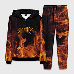 Костюм мужской Skrillex Flame цвета 3D-черный — фото 1