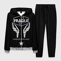 Костюм мужской Death Stranding: Fragile Express цвета 3D-меланж — фото 1
