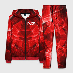 Костюм мужской Mass Effect: Red Armor N7 цвета 3D-красный — фото 1