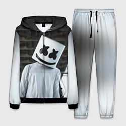 Костюм мужской Marshmallow DJ цвета 3D-черный — фото 1