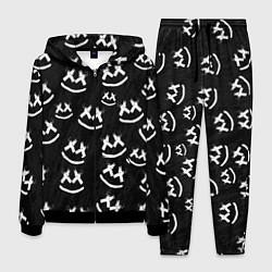 Костюм мужской Marshmello: Black Pattern цвета 3D-черный — фото 1
