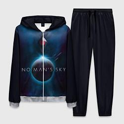 Костюм мужской No Man's Sky: Dark Space цвета 3D-меланж — фото 1