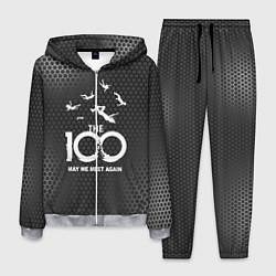 Костюм мужской The 100 цвета 3D-меланж — фото 1