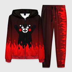 Костюм мужской Kumamon: Hell Flame цвета 3D-красный — фото 1