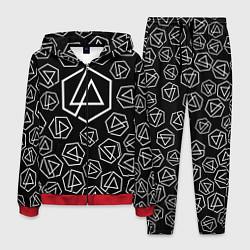 Костюм мужской Linkin Park: Pattern цвета 3D-красный — фото 1