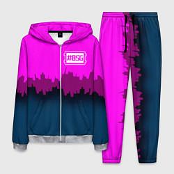 Костюм мужской BSG: Neon City цвета 3D-меланж — фото 1